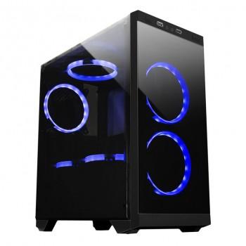 MiniTorre ARMOR C21 mATX Gaming 1xUSB Negra 511205