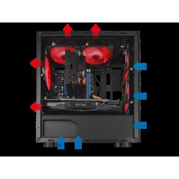 Minitorre TACENS Mars Gaming 3Ventiladores S/F MCT