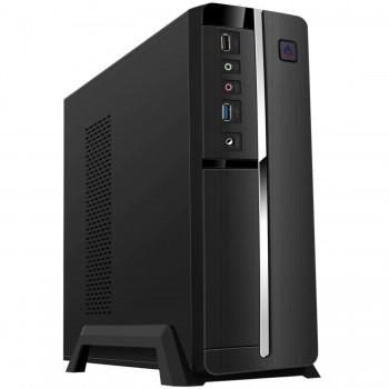 MiniTorre TOOQ ITX/mATX Slim 500w USB3Negra TQC-3005U3