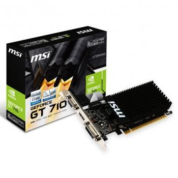 MSI GeForce GT710 2GB DDR3 Low Profile 912-V809-2016