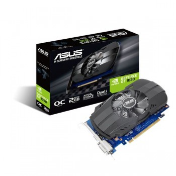 NVIDIA ASUS SILENT GT 1030 OC 2GB GDDR5 HDMI DVI 90YV0AT0-M0NA00