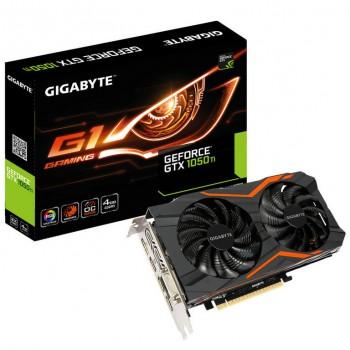 NVIDIA GIGABYTE GTX 1050 Ti G1 GAMING 4GB GDDR5 GV-N105TG1-GAMIN