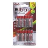 PACK 12 PCS Pilas Alcalinas LR03/AAA ELBAT EB0100