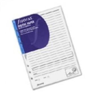 PAPEL FILOFAX DIGITAL A5 (PARA BOLIGRAFO DIG. io2) 342212
