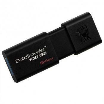 PENDRIVE KINGSTON 64GB DATATRAVELER USB 3.1 DT100G3/64GB
