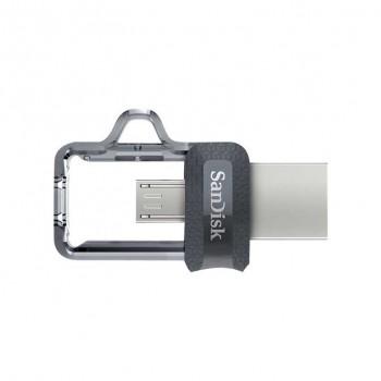PENDRIVE SANDISK 64GB ULTRADUAL USB/MICROUSB SDDD3-064G-G46