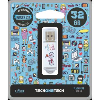 PENDRIVE TECHONETECH BY BIKE 32GB TEC4005-32