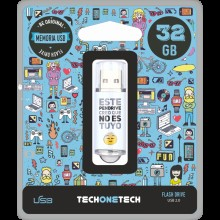 PENDRIVE TECHONETECH NO ES TUYO 32GB TEC4007-32