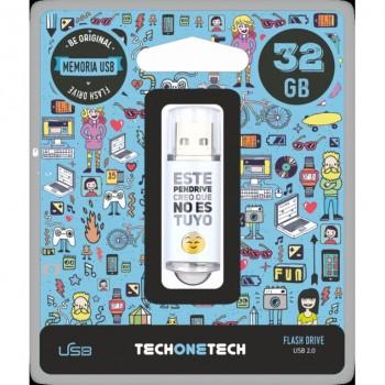 PENDRIVE TECHONETECH NO ES TUYO 32GB TEC4007-32