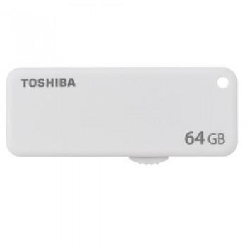 PENDRIVE TOSHIBA 64GB U203 USB2.0 BLANCO THN-U203W0640E4