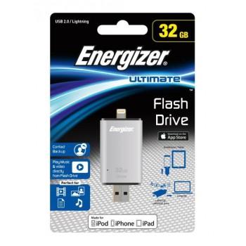 PENDRIVE USB 32GB 2.0 ENERGIZER LIGHTNING FOTLIU032R