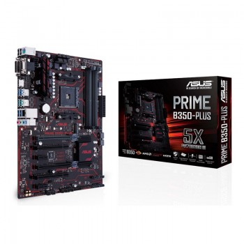 PLACA ASUS PRIME B350-PLUS (AM4) 4DDR4 VGA HDMI M2 90MB0TG0-M0EAY0