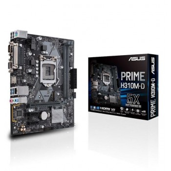PLACA ASUS PRIME H310M-D (1151) DDR4 HDMI  M.2 90MB0X60-M0EAY0