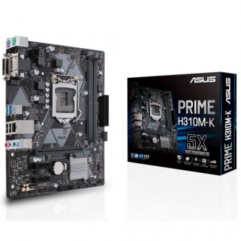 PLACA ASUS PRIME H310M-K 2.0 (1151) 2DDR4 USB 3.0 90MB0Z30-M0EAY0
