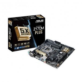 PLACA ASUS Z170M-PLUS (1151) 4xDDR4 VGA HDMI USB31