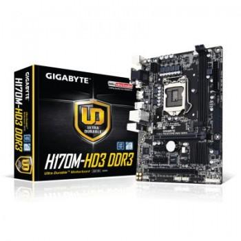 PLACA GIGABYTE GA-H170M-HD3 DDR3 (1151) 2DDR3 VGA