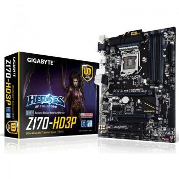 PLACA GIGABYTE GA-Z170-HD3P (1151) 4xDDR4 VGA HDMI