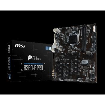 PLACA MSI B360-F PRO  (1151) DDR4 DVI HDMI 911-7B25-001