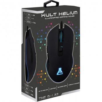 Ratón G-LAB Gaming Kult Helium 2400dpi KULT-HELIUM