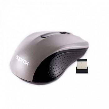 Ratón inalámbrico APPROX 2.4ghz 1200dpi APPWMLITEGV2