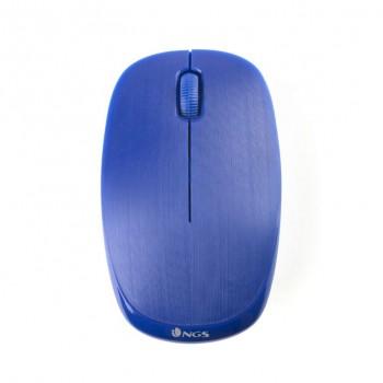 Ratón NGS Wireless teclas silenciosas Azul EVOMUTEBLUE