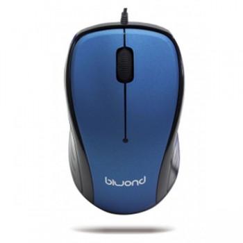 Ratón Wired 2.0 USB Azul Biwond RN01 90492