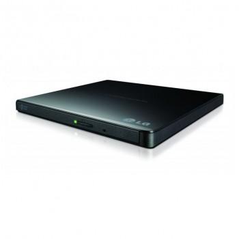 Regrabadora Liteon DVD/RW Slim USB Negra EBAU108-11