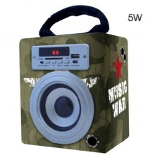 REPRODUCTOR COOLSOUND BLUETOOTH 5W MUSIC WAR CROMD CR0783