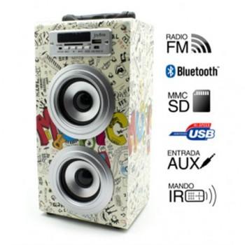 Reproductor JoyBox Bluetooth Guitar Biwond 50602