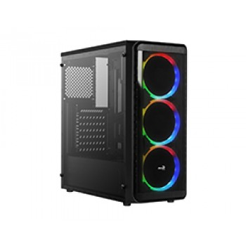 Semitorre AEROCOOL 3Ventiladores RGB Negro SI5200RGB