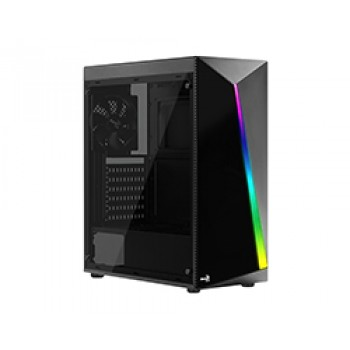 Semitorre AEROCOOL TOR Gaming RGB Cristal S/Fuente