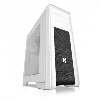 Semitorre ATX NOX HUMMER S/fuente USB Blanco NXHUMMERZXZ