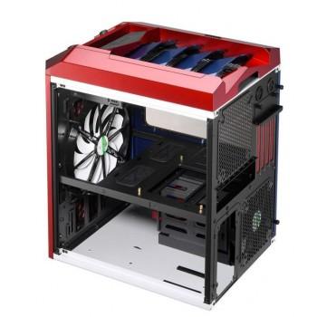 Semitorre Gaming AEROCOOL  Azul/Rojo XPREDATORCUBEBR