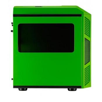 Semitorre Gaming AEROCOOL Verde/Negro XPREDATORCUBEGB