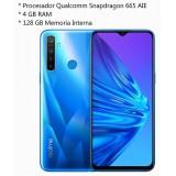 "Smartphone REALME 5 6.5"" 4Gb 128Gb Azul 6941399000292"