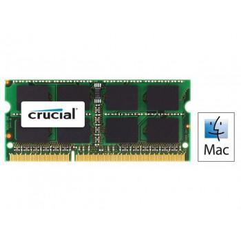 SODIMM DDR3 4 GB 1066 Mhz CRUCIAL MAC CT4G3S1067MCEU