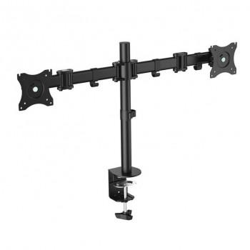 Soporte de mesa para 2 Monitores 13-27 Cromad CR0658