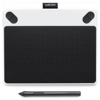 TABLETA WACOM INTUOS DRAW BLANCA PEN 152x95mm CTL-490DW-S
