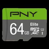 TARJETA MEMORIA MICRO SD 64GB PNY CLASE 10 P-SDUX64U185GW-G