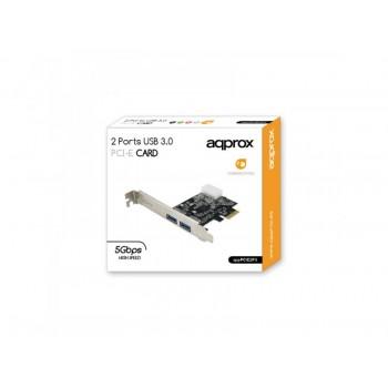 TARJETA USB 3.0 PCI Express APPROX APPPCIE2P3