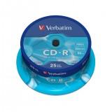 TARRINA 25 UNIDADES CDS VERBATIM 52X DATALIFE (CA 43432