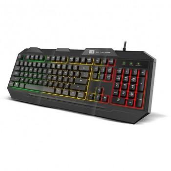 Teclado Gaming BG Fox Membrana Multicolor BGFOX
