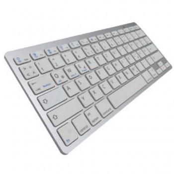 Teclado SUBBLIM Bluetooth apple/windows Plata 1DYC001