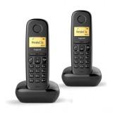 TELÉFONO DECT GIGASET A170 DÚO NEGRO (BASE+SUP H2802-D201-DUO