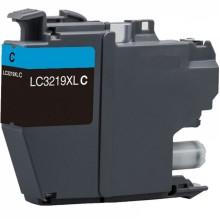 TINTA COMPATIBLE BROTHER LC-3219C CYAN 1,5K CLC-3219XLC