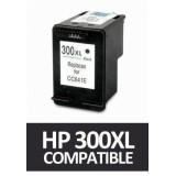 TINTA COMPATIBLE CC641EE HP 300 XL NEGRO M-HP300XLBKN