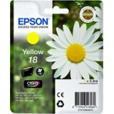 TINTA EPSON AMARILLO 18 XP102/205/305/405 T180440