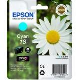 TINTA EPSON CIAN 18 XP102/205/305/405 T180240