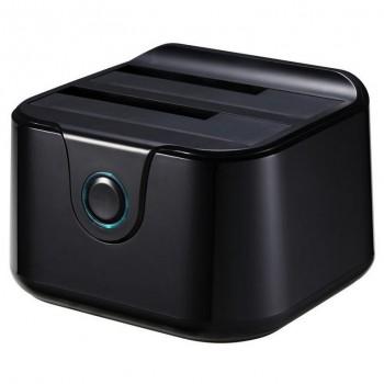 TOOQ HDD DOCKING STATION USB 3.0 NEGRO TQDS-802B