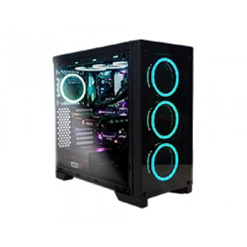 Torre ABYSM Ebony ATX/mATX/ITX RGB USB3 Negro 812103